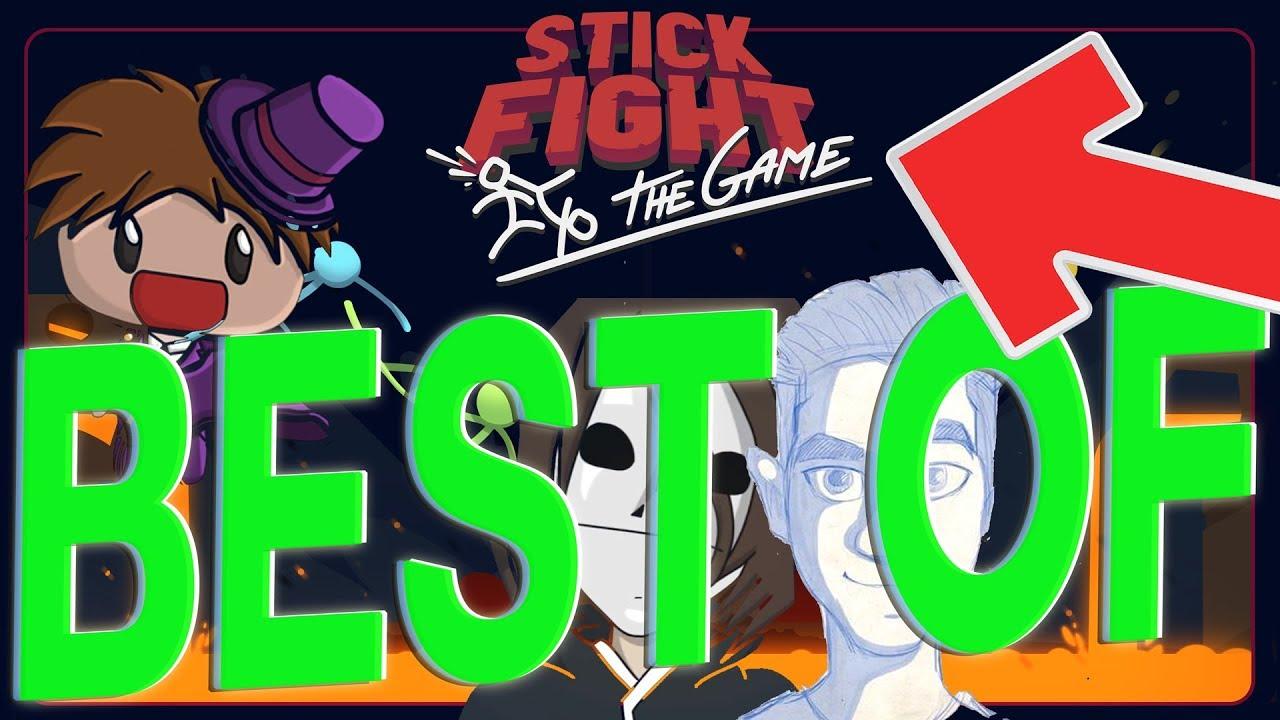 Best Of HandOfBlood, Zombey, GLP, Maxim, Maudado - Stick Fight: The Game