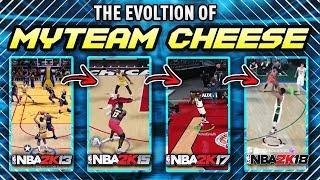 THE EVOLUTION OF NBA 2K MyTEAM CHEESE!! *NBA 2K13 - NBA 2K18*