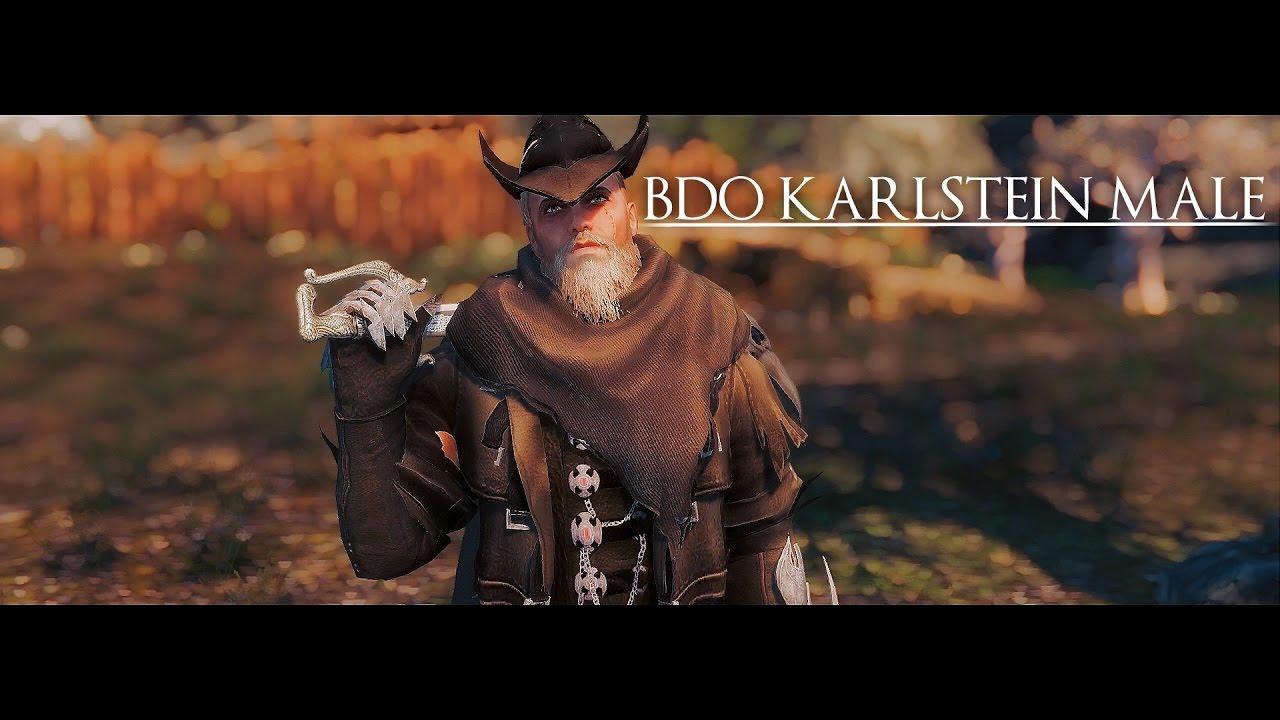 Skyrim Mod | BDO Karlstein Male Armor
