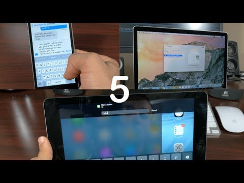 iOS 8 & OS X Yosemite: Top 5 Features! (Hands on)