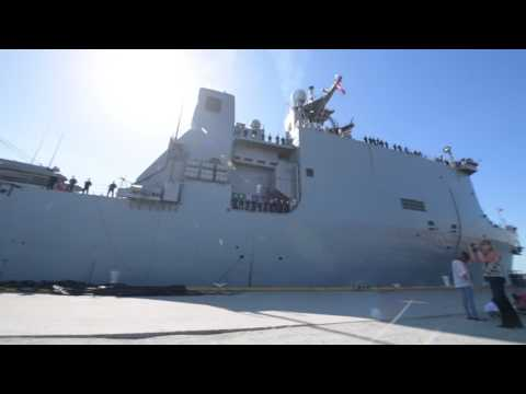 USS Carter Hall (LSD 50) departs Joint Expeditionary Base Little Creek-Fort Story
