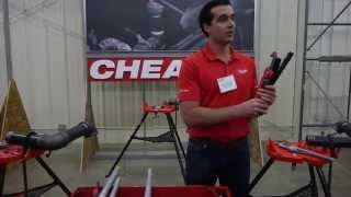 """Milwaukee Cheater Pipe Wrench Adjusts from 10""""-24"""" - Milwaukee Media Event 2015"""