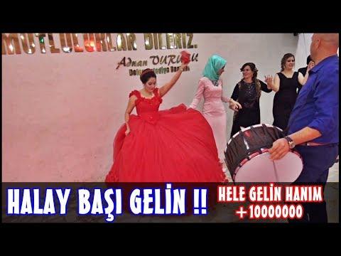 Gelin hanım halay başı Hanım Kızlar Kızlar :) 2018 Düğünler ERCAN BULUT VE EKİBİ ercan müzik belen