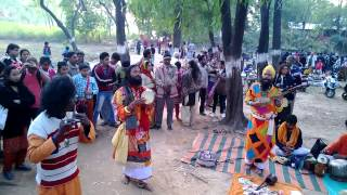 Bengali Folk song performance at tribal villege in Shantiniketan