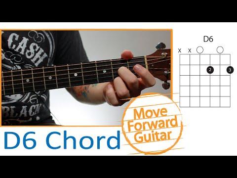 Guitar Chords for Beginners - D6