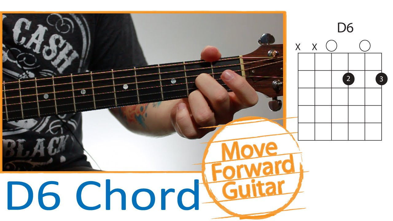 Guitar Chords For Beginners D6 Youtube