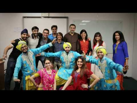 Asia Pacific University Bhangra Group performance-Multicultural Night 2016