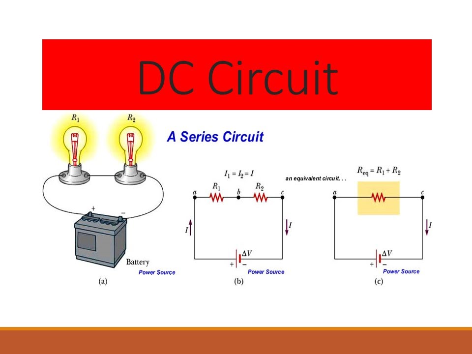 Electric Circuits Simple Circuits Series Circuits And Parallel