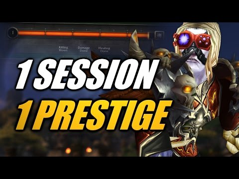 WoW | 50 Honor Levels in a DAY: Prestige Challenge! [Cobrak]