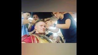 Дождь ☔️ парик отклеился ☹️ | Роман Курцын #Instagram
