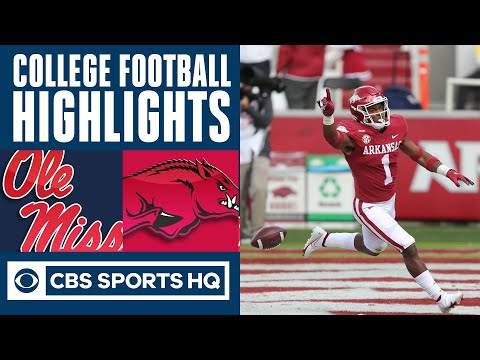 Ole Miss vs Arkansas Highlights: Hogs force 7 turnovers to defeat the Rebels | CBS Sports HQ