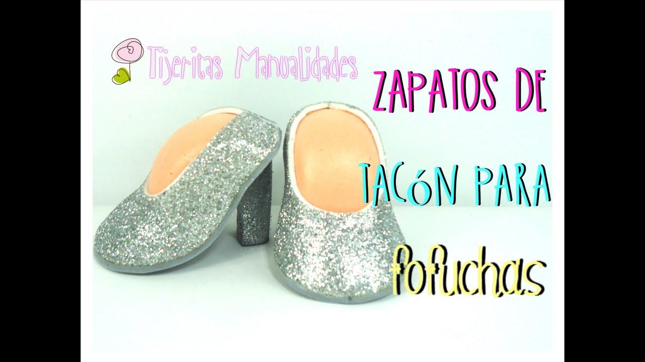 DIY - Zapatos de tacón para fofuchas - #TijeritasManualidades ...