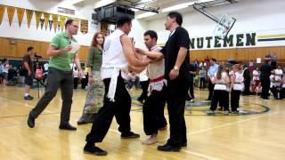 Choy Li Fut (Cai Li Fo) Kung Fu - Push Hands 2