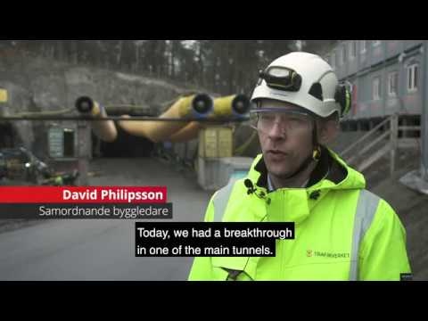 Progress report for E4 The Stockholm bypass Project, June 20