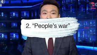 """From """"People's war"""" to Taiwan's gay marriage legalization: Our top news this week"""