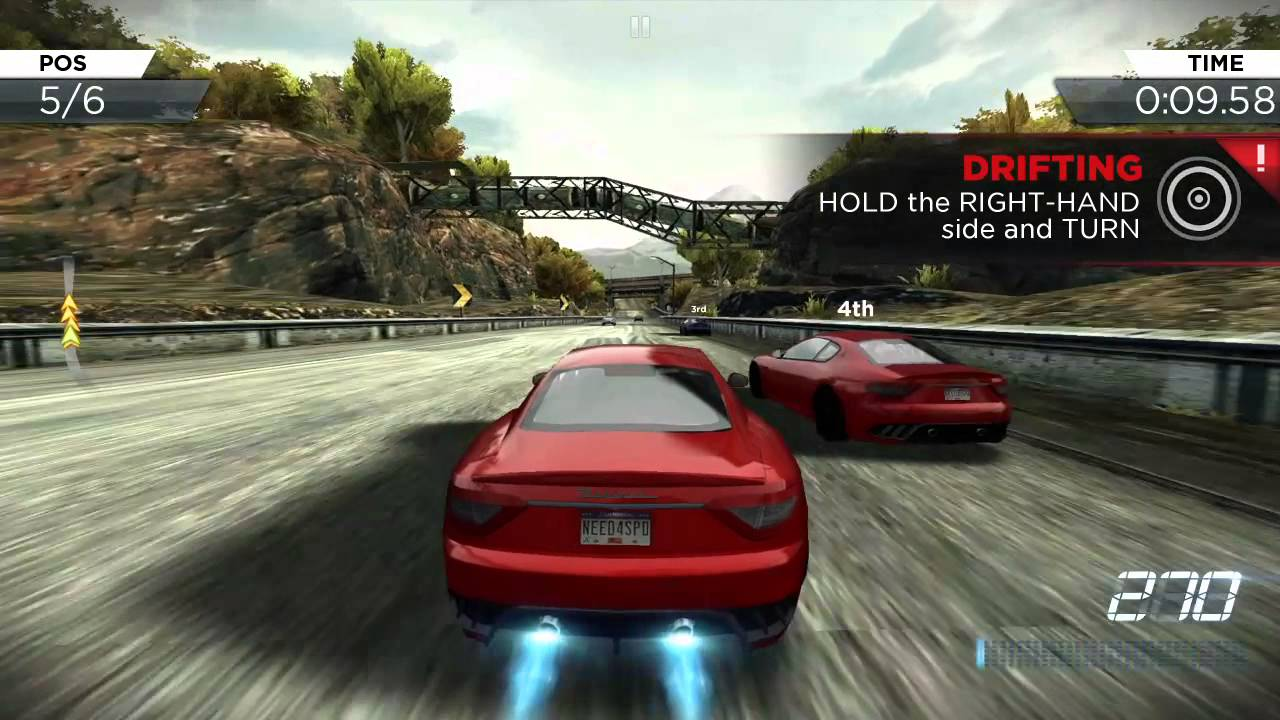 Nfs most wanted on android galaxy s6 youtube for Nfs most wanted android