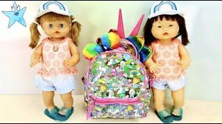 Ani y Ona estrenan ACCESORIOS ARCOIRIS monisisisisisisisimos⭐️Las muñecas más famosas de YOUTUBE