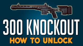 BATTLEFIELD HARDLINE 300 KNOCKOUT! BFH Professional Syndicate 300 Knockout Sniper Gameplay!