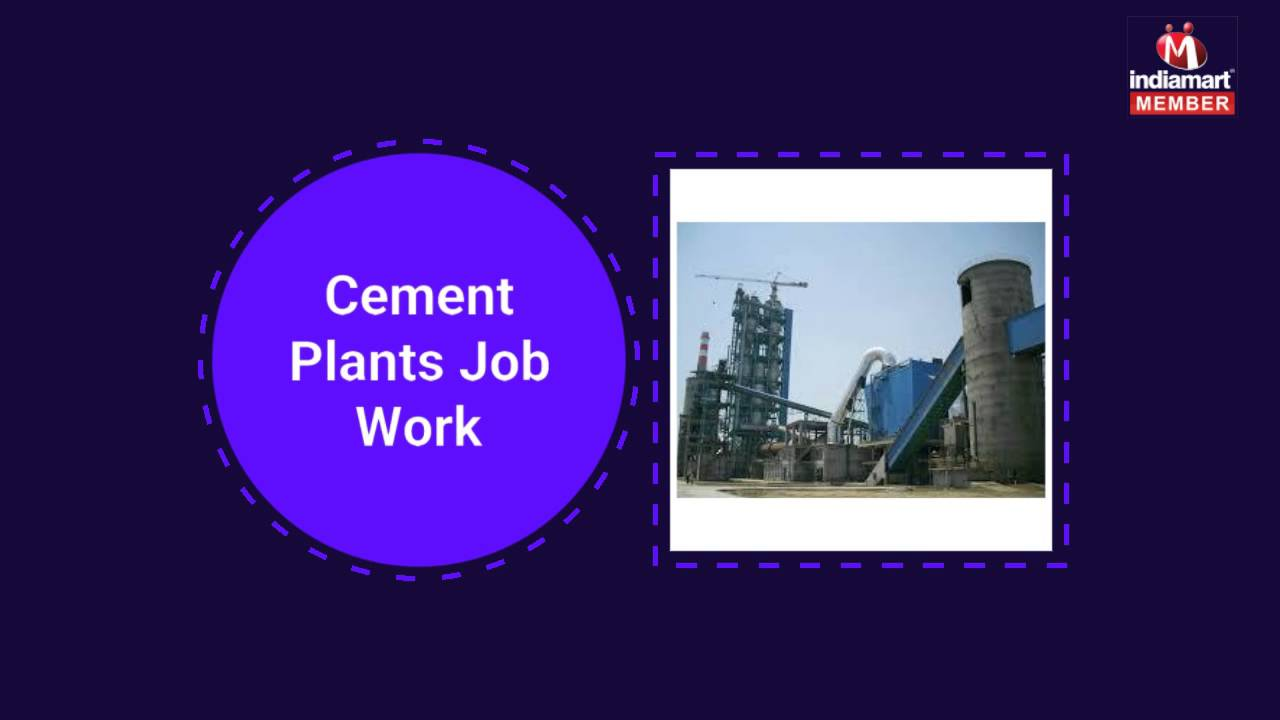 Cement and Power Plant Job Work by Strucon Consulting Pvt  Ltd , Gurgaon