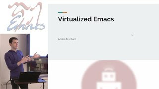 Virtualized Emacs as an IDE