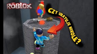 CZY URATUJE NIKOLE? Epic Minigames | ROBLOX