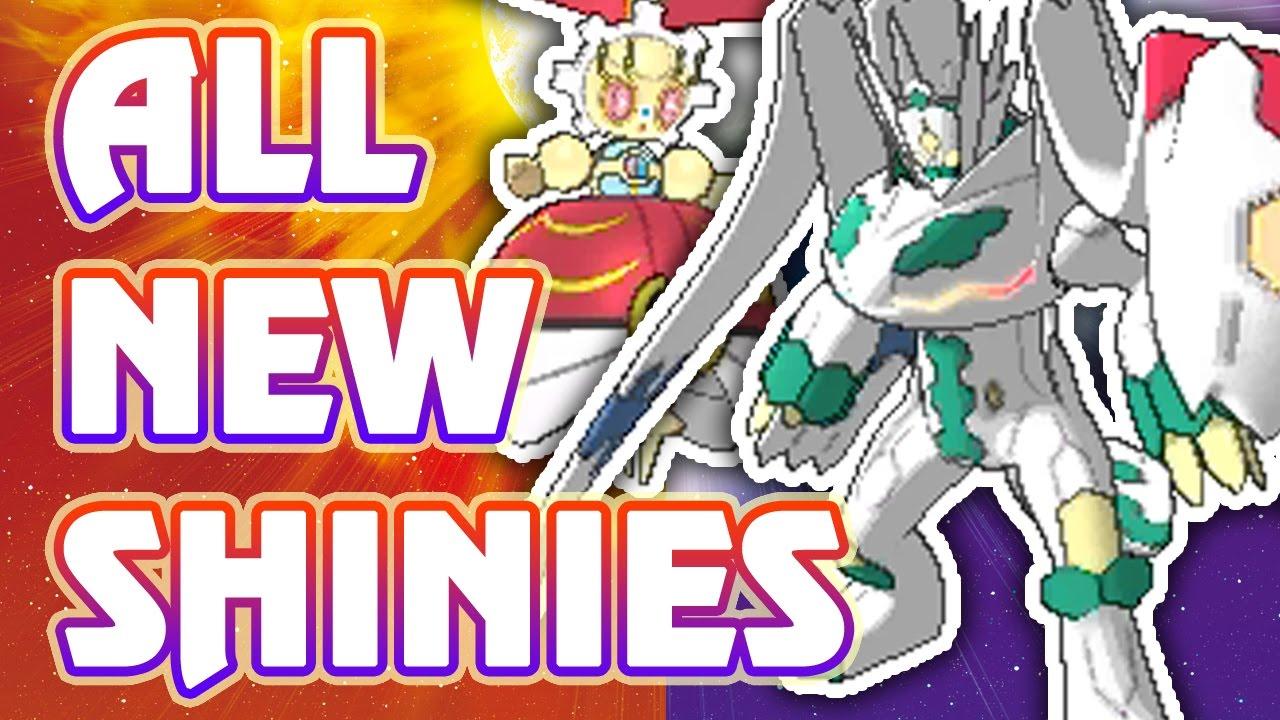 All SHINY NEW Alola Pokémon and forms in Pokémon Sun and Moon ...