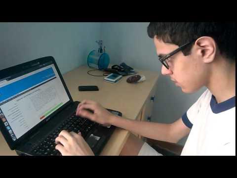 Andrea Akhlaghi Farsi, il 14enne recordman in scrittura veloce