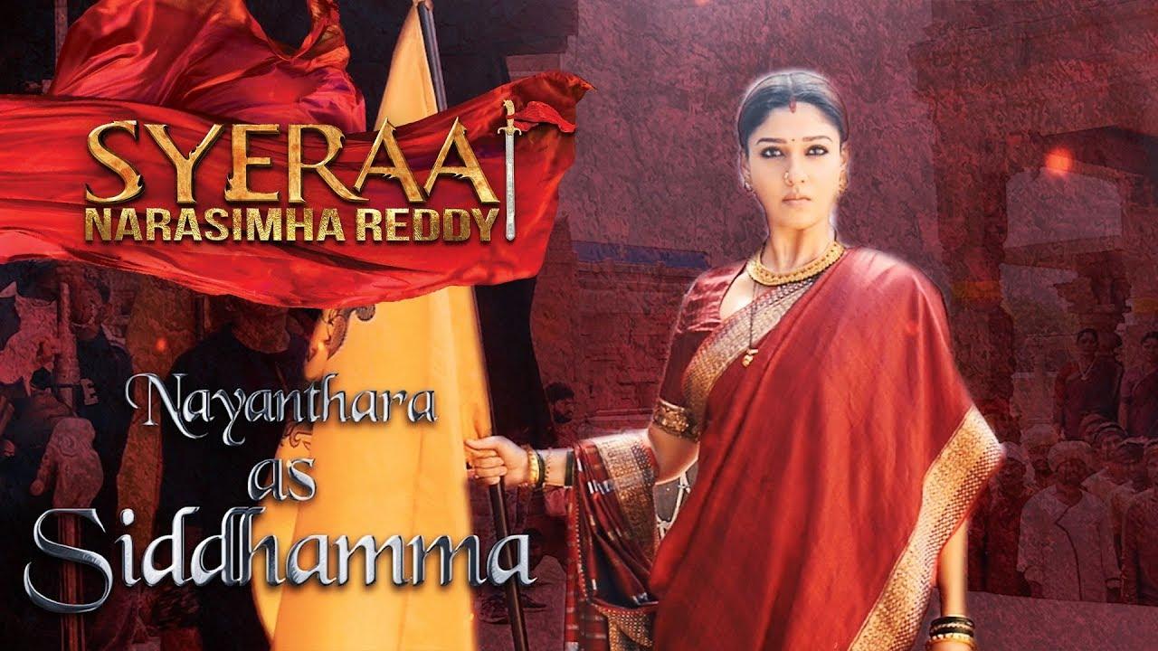 Download Nayanthara as Siddhamma - Sye Raa Narasimha Reddy | Oct 2nd Release