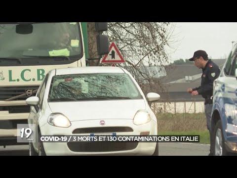 Coronavirus en Italie: onze villes en quarantaine, le nord du pays se prépare à vivre des jours...