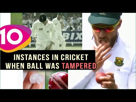 10 Instances in Cricket when Ball was Tampered