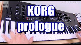 KORG prologue Demo & Review