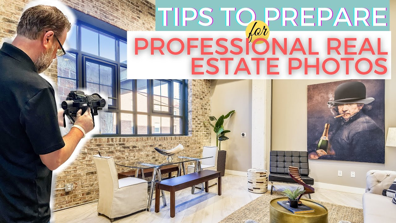 Prepping Your Home for Professional Real Estate Photography