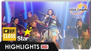 LizQuen delivers 'Bagani' sneak peek at #JustLove Trade Event