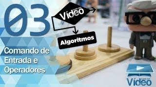 Comando de Entrada e Operadores - Curso de Algoritmos #03 - Gustavo Guanabara