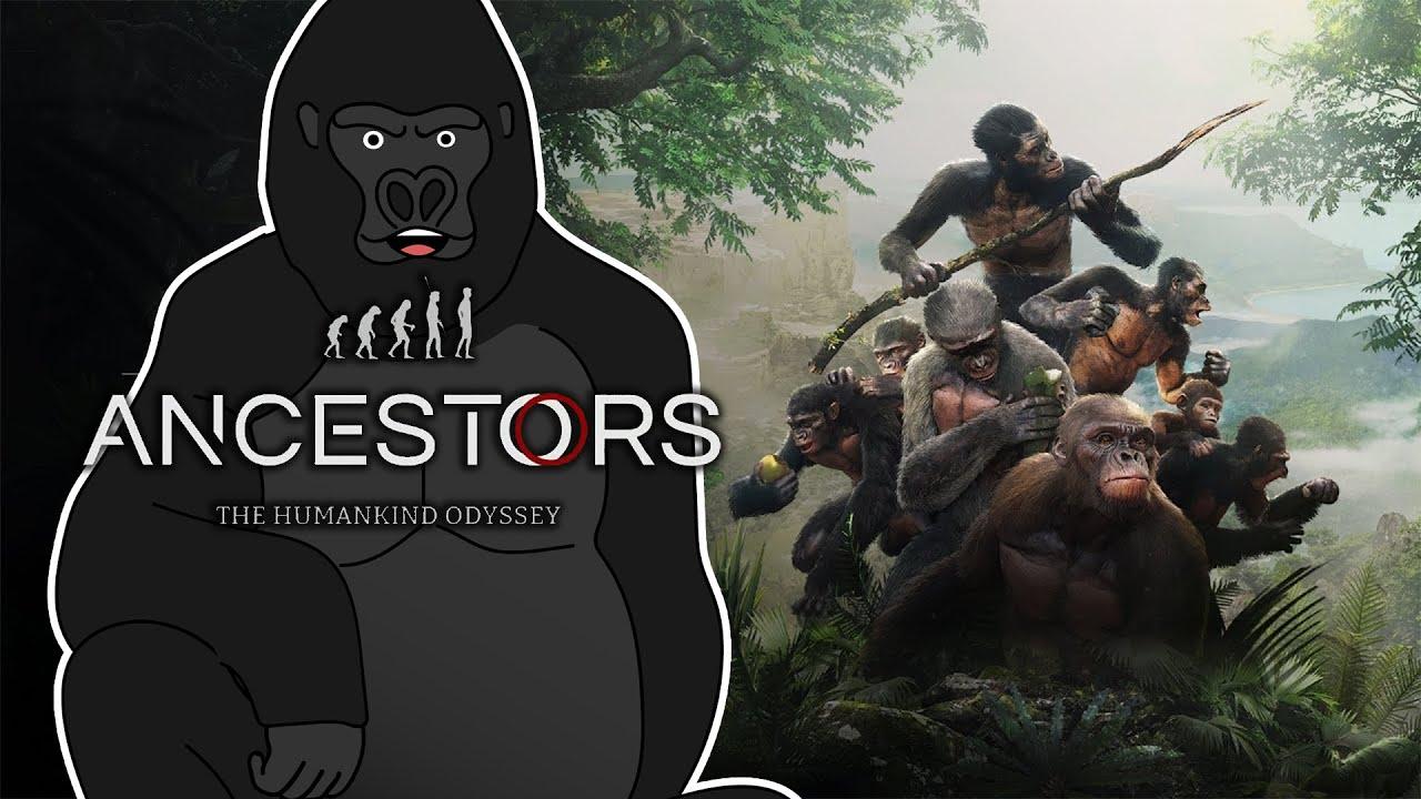 【Ancestors:人類の旅】ゴリラが類人猿になって人間を目指す配信。【バーチャルゴリラ】