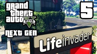 GTA 5 Next Gen Walkthrough Part 5 - Xbox One / PS4 - LIFEINVADER - Grand Theft Auto 5