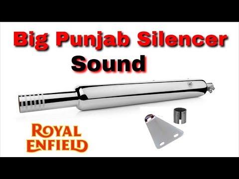 Bullet sound / big punjabi silencer / exhaust / Jeet / royal Enfield 350cc / best sound