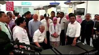 PM pays surprise visit to the Kuala Lumpur Hospital