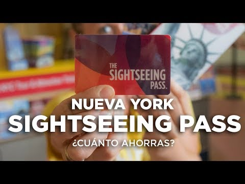 Tarjeta Sightseeing Pass Nueva York Cómo Funciona Y Cuánto Ahorras Youtube