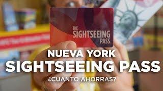 Tarjeta Sightseeing pass Nueva York. Cómo funciona y cuánto ahorras.