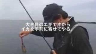 アオリイカエギングノウハウ紹介13抱かないイカに抱かせるテクニック thumbnail