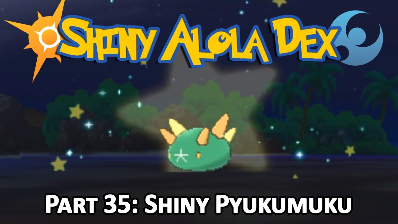 [LIVE!] Shiny Pyukumuku after a 346 SOS Chain on Route 7! (Pokemon Sun and  Moon)
