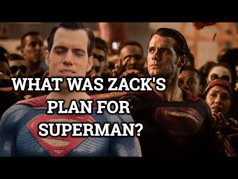 Superman's  In The Snyder Cut