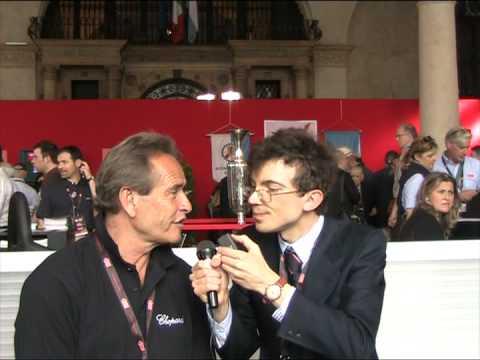 Jacky Ickx intervistato da Alessandro Errigo il 14 mag 2009 a BS