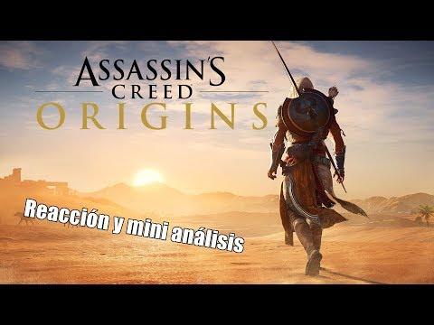 Assassin's Creed Origins | Trailer reacción y mini análisis