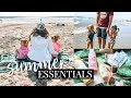 DAY AT THE BEACH! WHAT'S IN MY DIAPER BAG? | Kendra Atkins