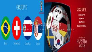FIFA World Cup 2018 Russia schedule and matches results