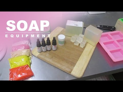 Equipment, Melt And Pour Soap Making