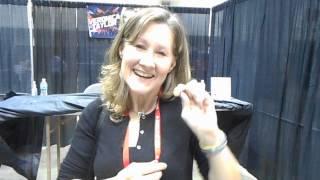 Veronica Taylor (Ash VA) gets a Hiker Badge