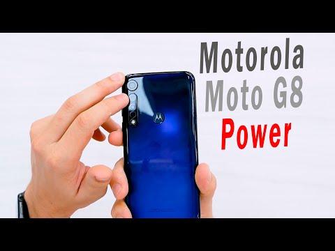 Motorola Moto G8 Power - 3 дня автономной работы (НА ВСЕ 100)